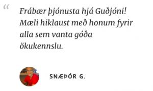 ökukennari á höfuðborgarsvæðinu